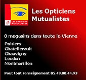 pub de LES OPTICIENS MUTUALISTES