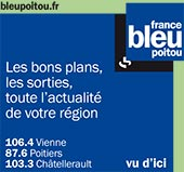pub de FRANCE BLEU POITOU (106.4 MHZ)