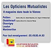 pub LES OPTICIENS MUTUALISTES